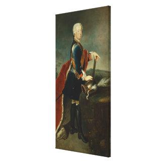 Frederick皇太子II、c.1736 キャンバスプリント