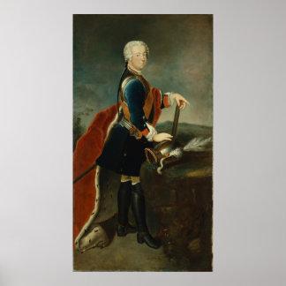 Frederick皇太子II、c.1736 ポスター