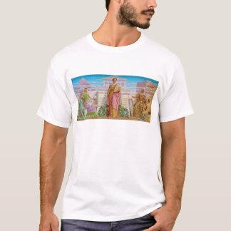 Frederick Dielman著歴史のモザイク Tシャツ