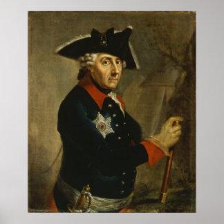 Frederick IIプロシアの素晴らしいの、1764年 ポスター