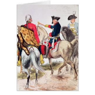 Frederick II素晴らしいの カード