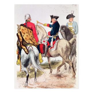 Frederick II素晴らしいの ポストカード