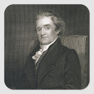 Frederick W.著刻まれるノア・ウェブスター(1758-1843年) スクエアシール