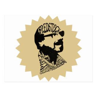 FredHeadのロゴ ポストカード