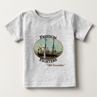 freedomfighters、USS憲法 ベビーTシャツ