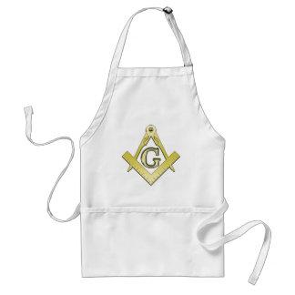 Freemasonsryの記号のエプロン スタンダードエプロン
