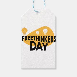 Freethinkers日-感謝日 ギフトタグ