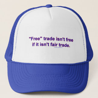 FreeTradeFairTrade キャップ