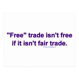 FreeTradeFairTrade ポストカード