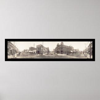 FremontのNEの写真1908年 ポスター