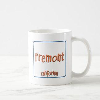 FremontカリフォルニアBlueBox コーヒーマグカップ