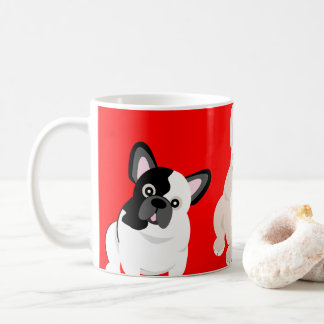 French Bulldogs Christmas コーヒーマグカップ
