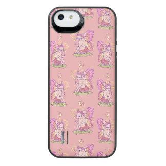 Frenchieのかわいい妖精は魔法綴りを投げています iPhone SE/5/5sバッテリーケース