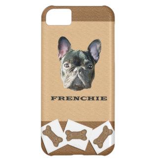 FrenchieのドッグビスケットのIphone 5の場合 iPhone5Cケース