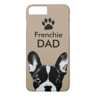 Frenchieのパパのかわいいフレンチ・ブルドッグベージュ色 iPhone 8 Plus/7 Plusケース