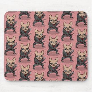Frenchieの忍者 マウスパッド