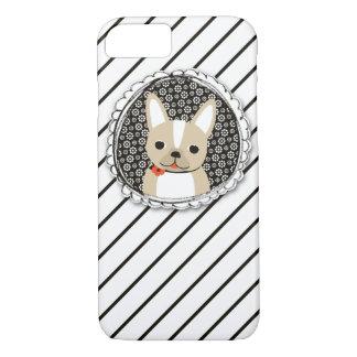 Frenchieの軽快なiPhone 7やっとThereCase iPhone 8/7ケース