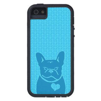 FRENCHIEの(紋章の)フラ・ダ・リの青 iPhone SE/5/5s ケース