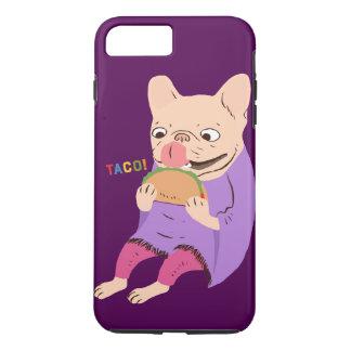 Frenchieはタコスを愛します iPhone 8 Plus/7 Plusケース