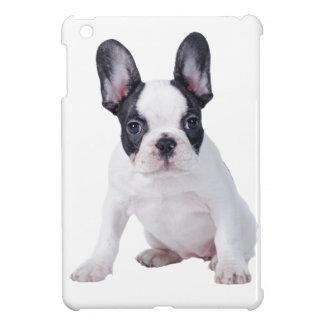 Frenchie -フレンチ・ブルドッグの子犬 iPad miniケース