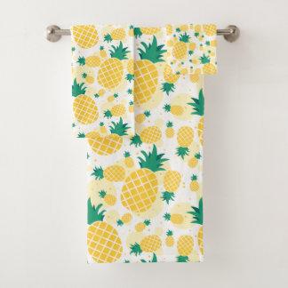 Fresh Pineapple Bathroom Towel Set バスタオルセット