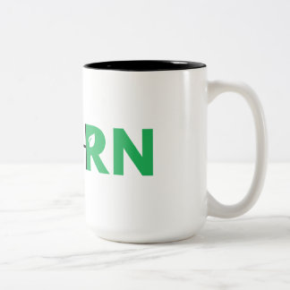 FreshRN 15のozのコーヒー・マグ ツートーンマグカップ