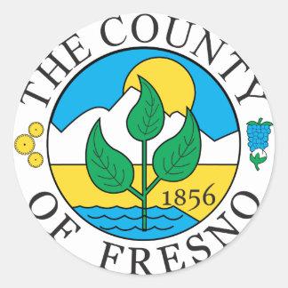 Fresno郡のシール ラウンドシール