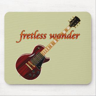 Fretlessの驚異のマホガニーのギター マウスパッド