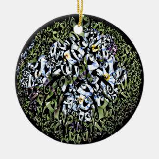Frezy花のプロダクト セラミックオーナメント