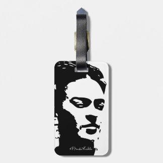 Fridaの影のポートレート ラゲッジタグ