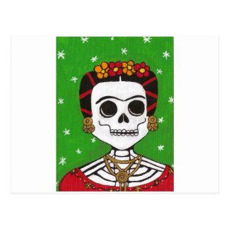 Fridaの骨組 ポストカード