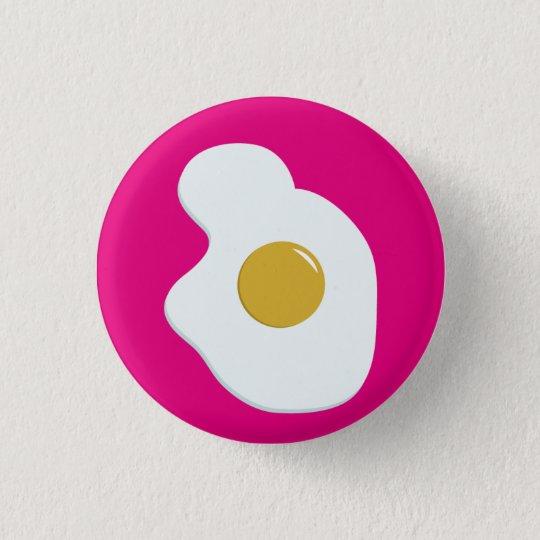 Fried EGG companion badge 3.2cm 丸型バッジ