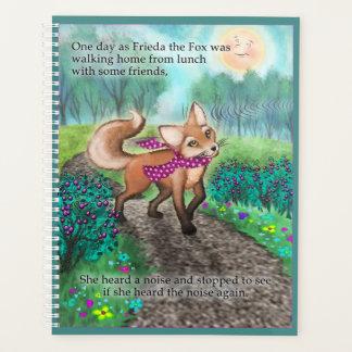 Friedaは月例か週間プランナーの後につきます プランナー手帳