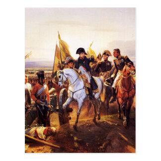 FriedlandホレスVernetの戦いのナポレオン ポストカード