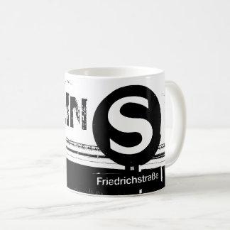 Friedrichstrasse_02.0.T.、ベルリン コーヒーマグカップ