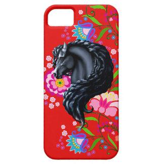 Frieisanの種馬、民俗花 iPhone SE/5/5s ケース