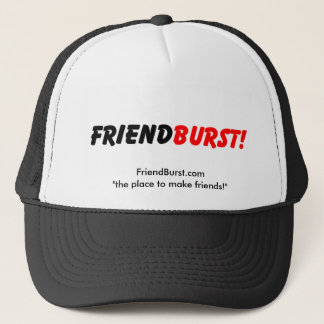 "FriendBurst.com ""友人""を作る場所 キャップ"