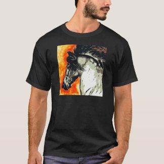 Friesianのムスタング Tシャツ