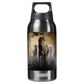 Friesianの馬こんにちは 断熱ウォーターボトル