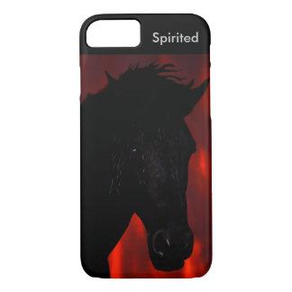Friesianの馬の精神 iPhone 8/7ケース