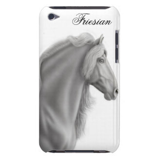 Friesianの馬のSpeckの誇りを持ったな場合 Case-Mate iPod Touch ケース