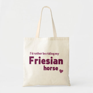 Friesianの馬 トートバッグ