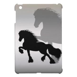 Friesianの馬/揚げ物Paard iPad Miniケース