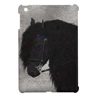 Friesianの馬 iPad Miniケース