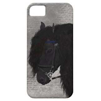 Friesianの馬 iPhone SE/5/5s ケース