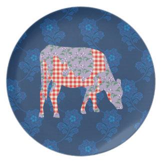 Friesian牛、Frieseのkoe プレート