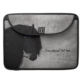 Friesian Paard/FriesPaard MacBook Proスリーブ