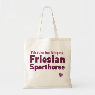 Friesian Sporthorse トートバッグ