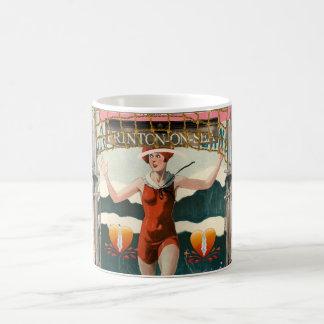 Frinton海でフラッパーの海の熱の遊戯を見て下さい! コーヒーマグカップ