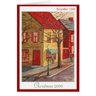 Fripの黄色いコーナー、クリスマス2010年 カード